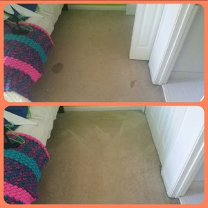 Before and After in Closet